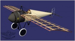 MORANE-N model airplane plan