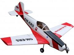 ZLIN 526 model airplane plan