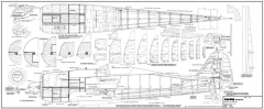 FW-190 A-8 model airplane plan