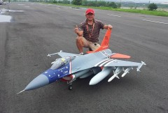 F-16 Falcon model airplane plan