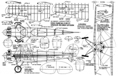 Fairchild-KR-21 model airplane plan