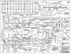 Fairchild22 1 model airplane plan