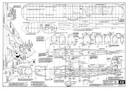 Fairchild 22 FSI-F6 model airplane plan