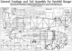 Fairchild 24 model airplane plan