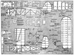 Fairchild Argus model airplane plan