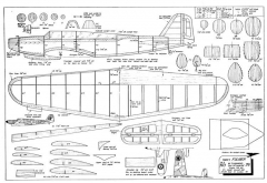 Fairey Fulmar model airplane plan