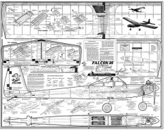 Falcon 56 Goldberg kit 200dpi model airplane plan