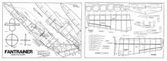Fantrainer model airplane plan
