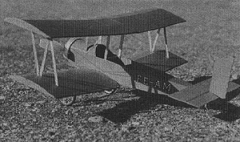 Farman Sport model airplane plan
