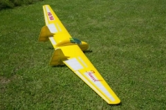 Fauvel AV361 model airplane plan