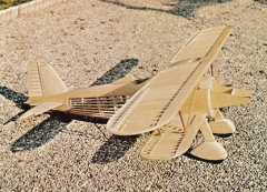 Fiat CR 42 Falco model airplane plan