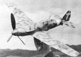 Fiat G 55 model airplane plan