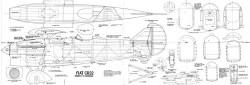 Fiat cr32 model airplane plan