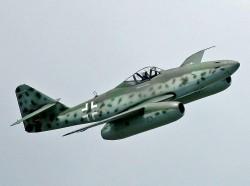 Messerschmitt Me 262 model airplane plan