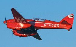 de Havilland DH.88 Comet model airplane plan