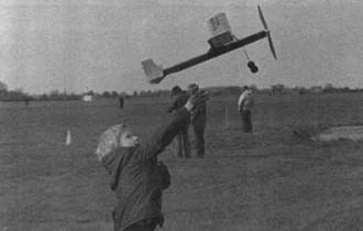 First Night model airplane plan