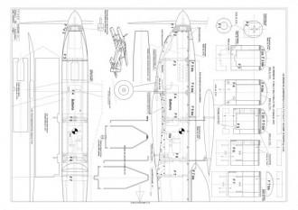 Flash model airplane plan