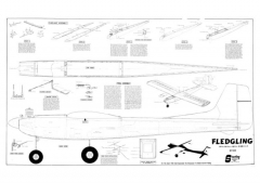 Fledgling FS29 model airplane plan
