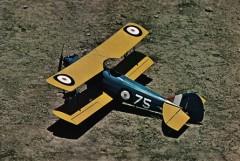 Fleet 16B model airplane plan