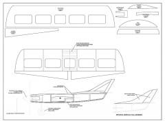 Flite Streak 1S Micro model airplane plan