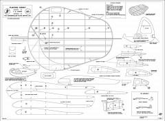 Floating Kidney 1947 model airplane plan