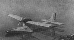 Flunder model airplane plan