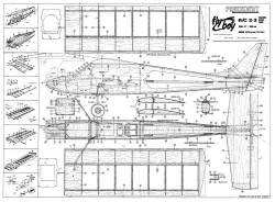 Fly-Boy 2 model airplane plan