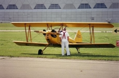 Fly Baby Biplane model airplane plan