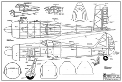 Focke-Wulf 190 RCM model airplane plan