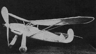 Focke-Wulf Stosser  model airplane plan