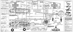 Focke Wulf 198 Whitman model airplane plan