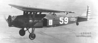 Fokker C-14 model airplane plan