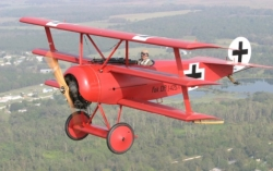 Fokker DR-1 model airplane plan
