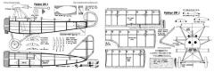 Fokker DR1 2 model airplane plan