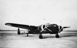 Fokker G1 model airplane plan