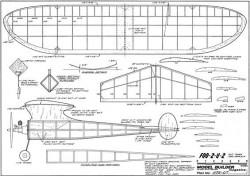 Foo 2 U 2 model airplane plan