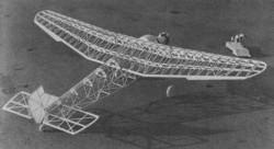 Ford Tri-Motor model airplane plan