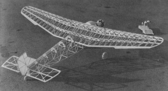 Ford Tri-Motor model airplane plan