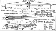 Fox Mk2 RCM 1338 model airplane plan