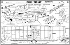 Frog Condor model airplane plan