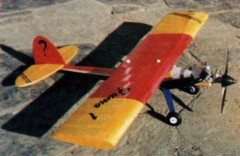 Fumo 1 model airplane plan