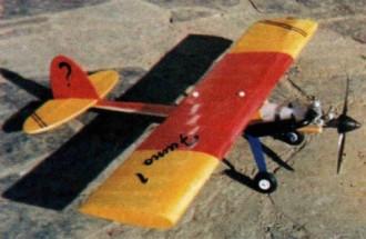 Fumo 1 model airplane plan