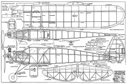 GP-Special model airplane plan