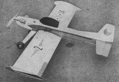 Galaxie 2 model airplane plan