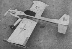 Galaxie 2 model airplane plan