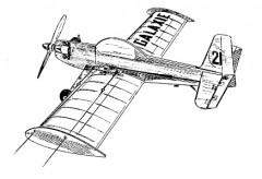 Galaxie model airplane plan
