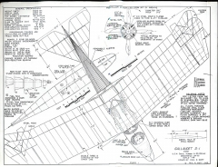 Gallaudet D-1 model airplane plan