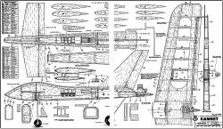 Gannet RCM-896 model airplane plan