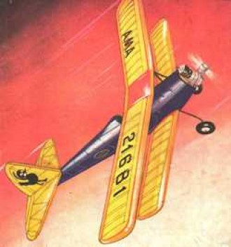 Gaucho model airplane plan