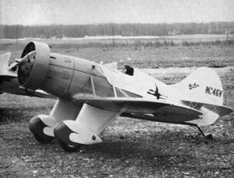 GeeBee Model E model airplane plan